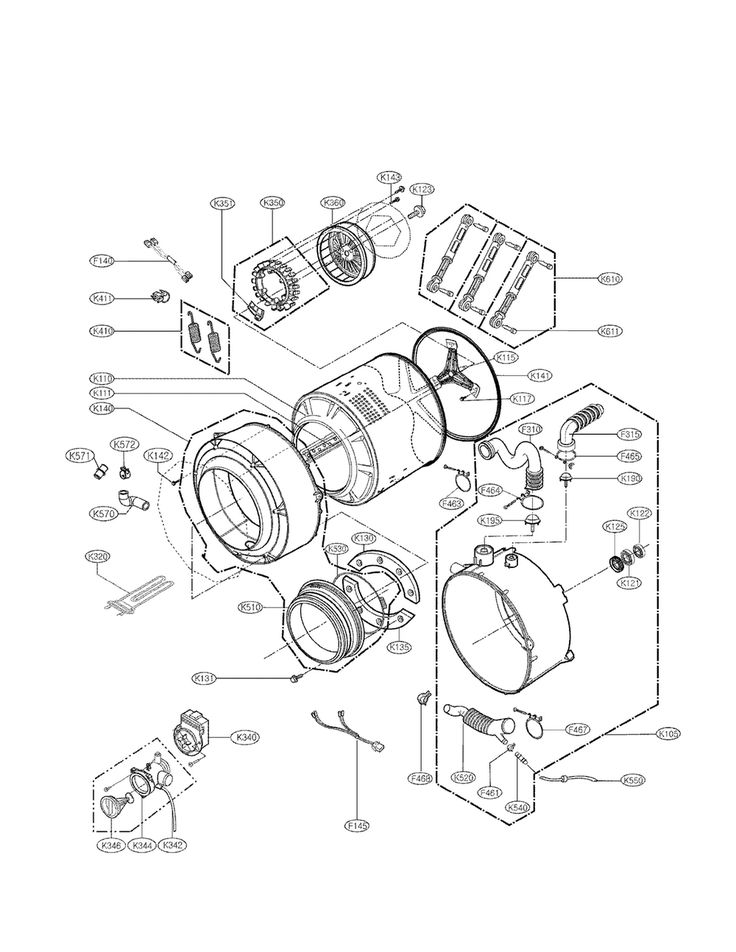 Asko Dishwasher Parts Diagram