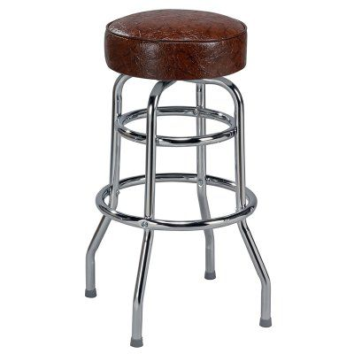 Regal Retro Soda Fountain 26 in. Retro Metal Backless Counter Stool Royal Blue - 1106-26-T12-ROYALBLUE