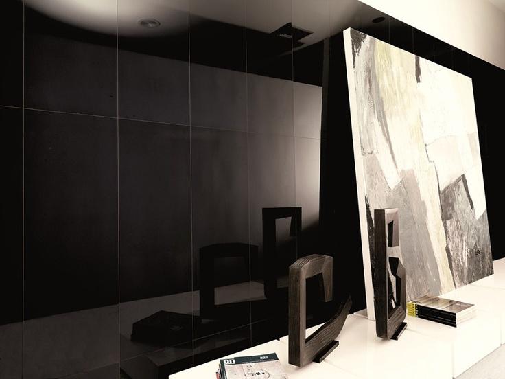 Venis 'Crystal Dark' Wall Tile | High gloss ceramic wall tile | Ceramo Tiles