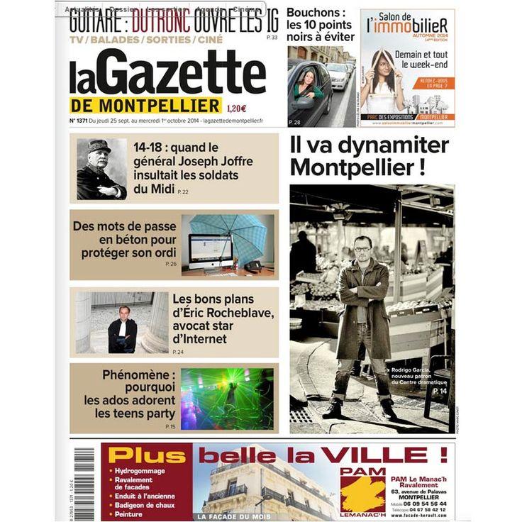 La Gazette de Montpellier « Les bons plans d'Eric ROCHEBLAVE, avocat star d'internet »