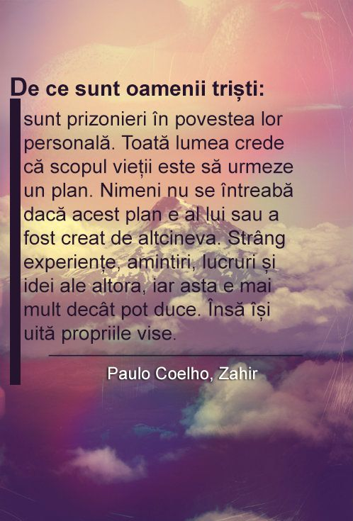 Paulo Coelho, Zahir