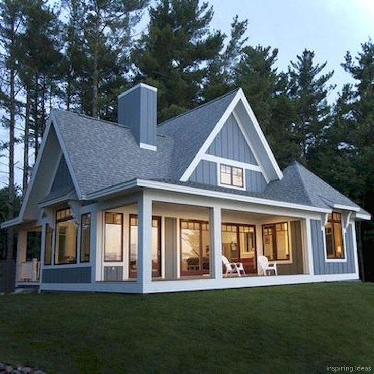 awesome cottage exterior colors schemes ideas043 small on lake cottage colors id=38213