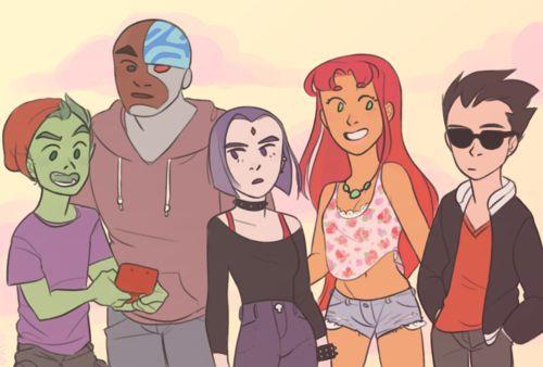 DC Comics: Teen Titans