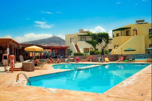 Voyage pas cher Crète Go Voyages au Hôtel Kaissa prix promo séjour Go Voyage à partir 379,00 € TTC 8J/7N.