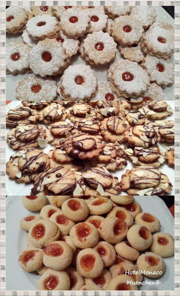 Weihnachtsplätzchen #German #Christmas Cookies