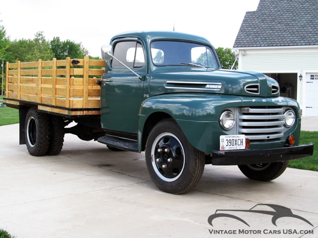 1950 ford f6 stake bed ford trucks pinterest beds and ford. Black Bedroom Furniture Sets. Home Design Ideas