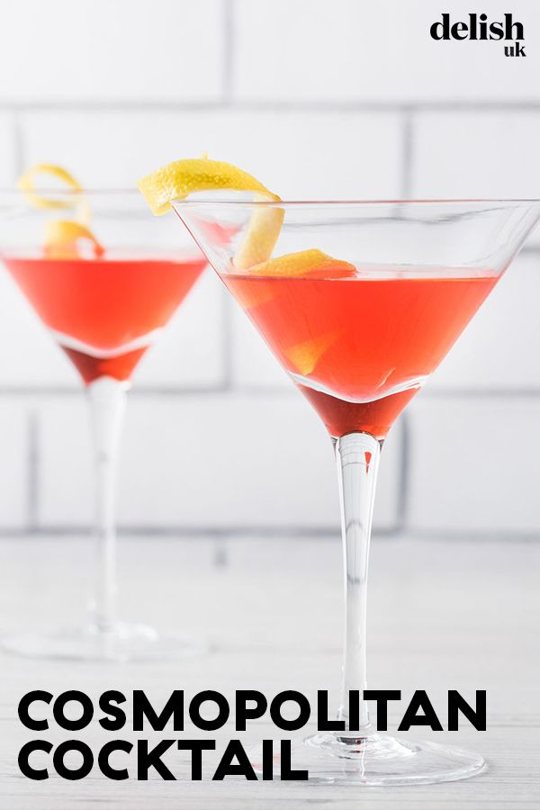 How To Make A Cosmopolitan That Carrie Bradshaw Would Be Proud Of Recipe Cocktails Delicious Cocktails Cosmopolitan Cocktails