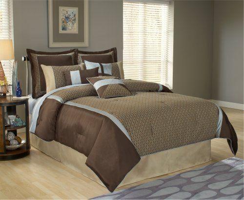 Stockton 14-Piece Cal King Bedding Set by Universal Lighting and Decor. Save 33 Off!. $389.91. 14-Piece includes luxury oversize comforter, bed skirt, kidney pillow, two unique decorative accent pillows, three pillow shams, three Euro shams and three Euro pillow inserts. 11-Piece available in queen. 14-Piece available in king and California king. 14 Piece - California King. 11-Piece includes luxury oversize comforter, bed skirt with split corners, kidney pillow, two pillow shams, ...