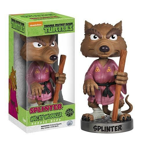 Not Just Toyz - Teenage Mutant Ninja Turtles Splinter Bobble Head, $12.99 (http://www.notjusttoyz.com/teenage-mutant-ninja-turtles-splinter-bobble-head/)