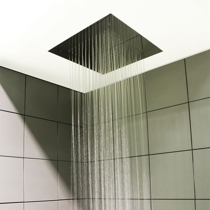 Soffione doccia per installazione ad incasso a controsoffitto - Soffione doccia soffitto ...