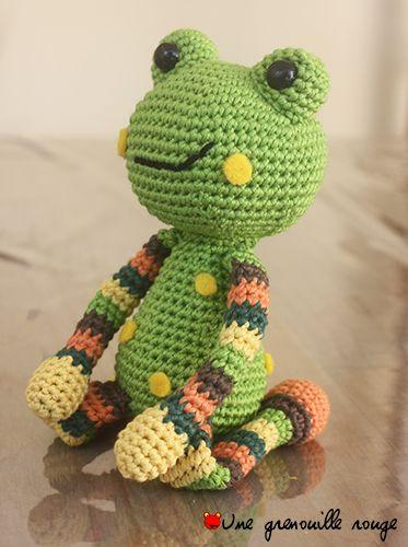 Serial crocheteuses 182 : la grenouille