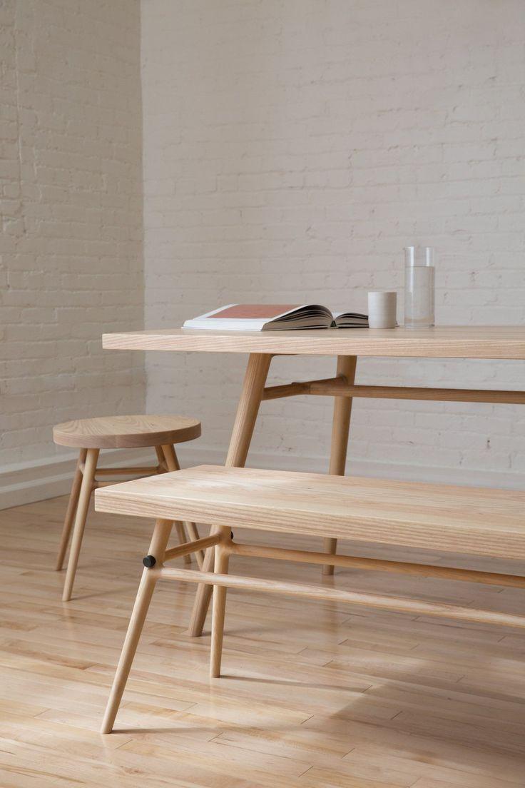 Minimalist dining furniture