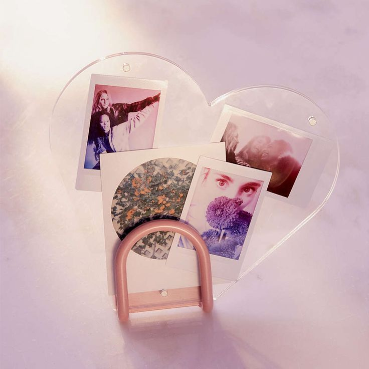 Display your favorite Instax photos and moments with your besties in this heart-shaped frame from UO. It may read Valentine's Day, but it's an adorable room accessory year-round. — Maddie