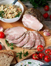 Smaczna Pyza - Sprawdzone przepisy kulinarne: Karkówka pieczona z czosnkiem i majerankiem