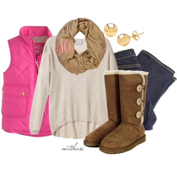 Preppy Winter Outfit, created by natihasi on Polyvore