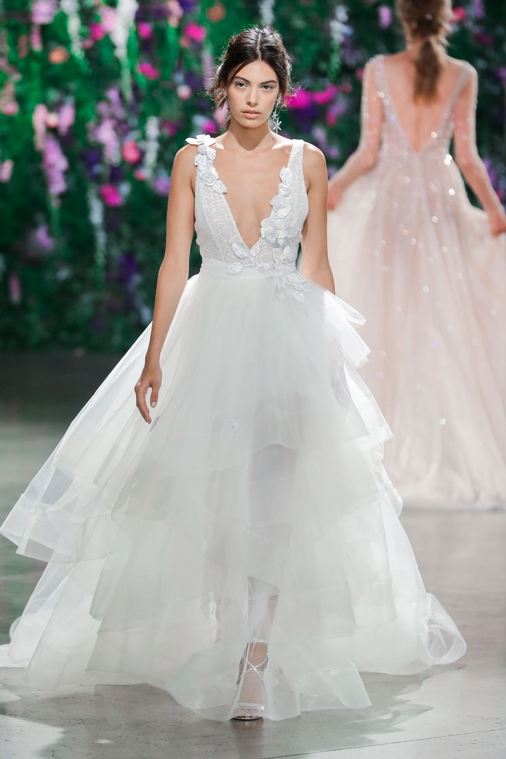 best tulle bridal gown images on pinterest