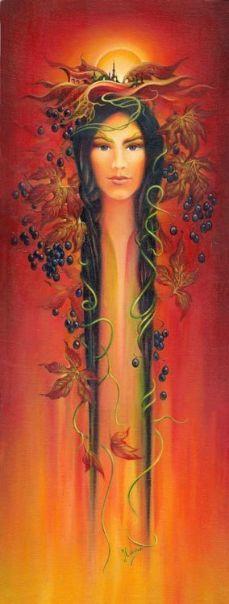 "(5) colorful autumn - from cycle  ""Eight Seasons of the Year"", © Anna Ewa Miarczyska"