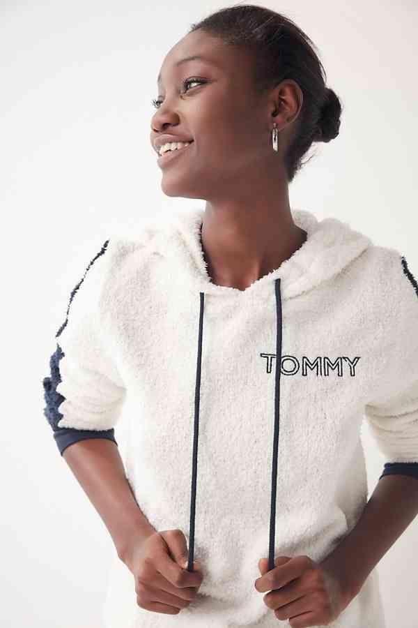 795f7d7c Tommy Hilfiger UO Exclusive Marshmallow Hoodie Sweatshirt in 2019 ...