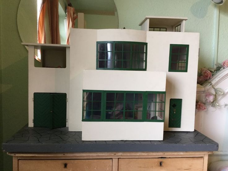 Triang Art Deco Dolls House No.52 Very Rare This Is A House I Would