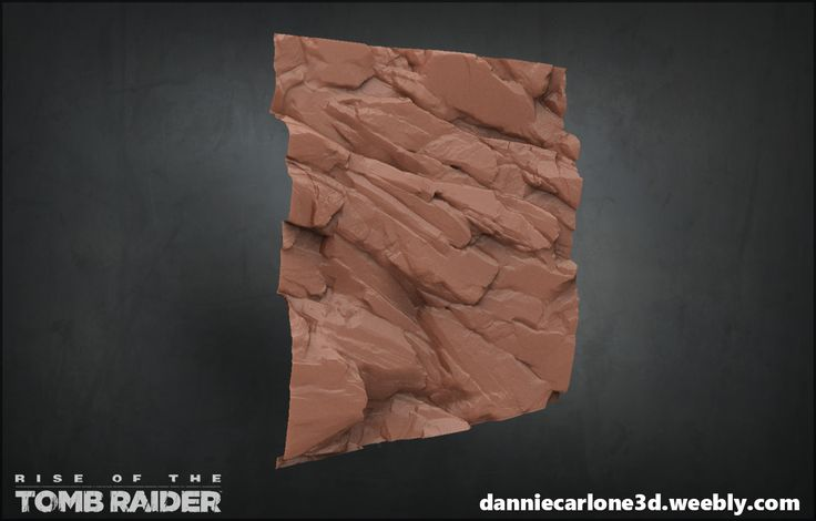 ArtStation - Rise of The Tomb Raider - Sculpts and assets, Dannie Carlone