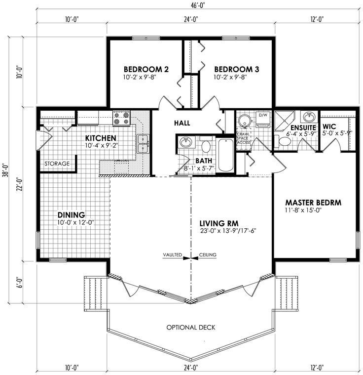 281 best Plan de maison images on Pinterest Floor plans, Little - plan maison demi sous sol