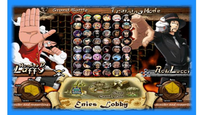 Gameplay And Download On The Website Of The Game One Piece Fighting Adventure By Team One Piece Mugen Os Made Based Of Ch Games Free Games Video Game Covers
