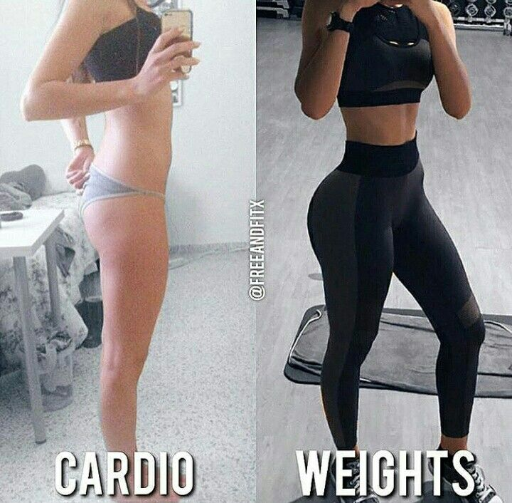 • cardio vs weights • weightlifting • motivation • fitness 🍃