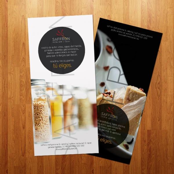 Saffron Restaurant. Menu DesignLogo DesignBrochure DesignIdeas ...