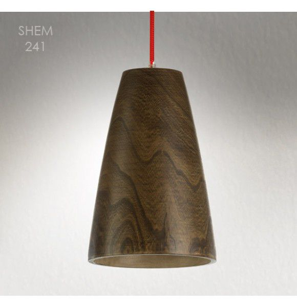 Lighting shop, contemporary wood pendant light SHEM | About Space