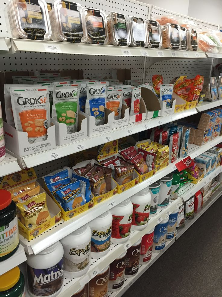 Snacks - Low Carb Canada