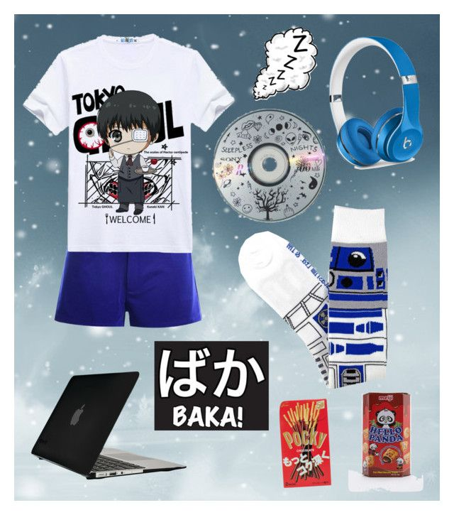Watching Anime All Day d(^u^)b by justonebadday on Polyvore