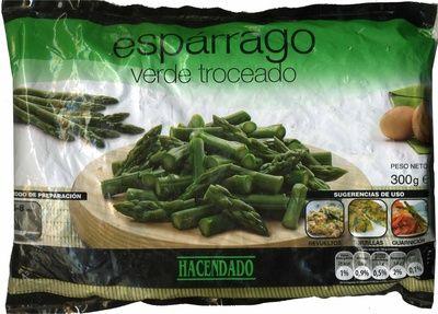 """Espárragos verdes troceados congelados """"Hacendado"""" - Producto"""