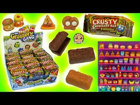 Grossery gang full box 30 candy bar surprise mystery blind for Food bar game