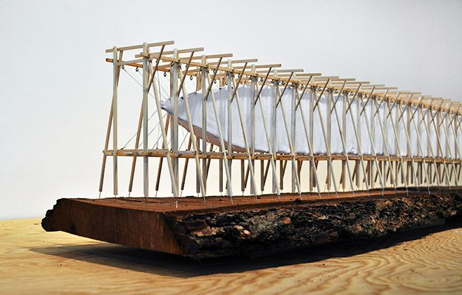 Steilneset Memorial - maquette