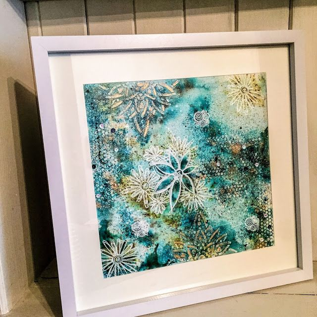 PaperArtsy: 2017 #3 Infusion Explosion {by Clare Messenger}