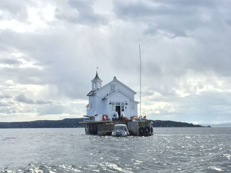 Oslo fjord. Lighthouse for rent.