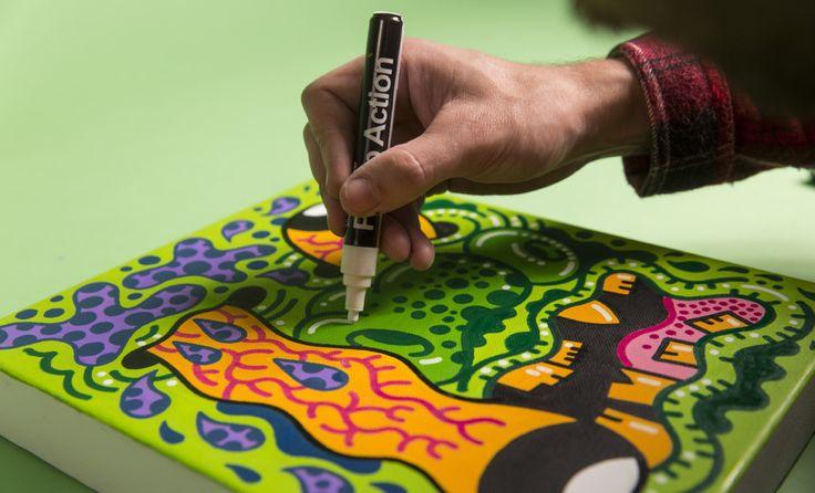 KAPUT Ironlak Pump Action Paint Marker