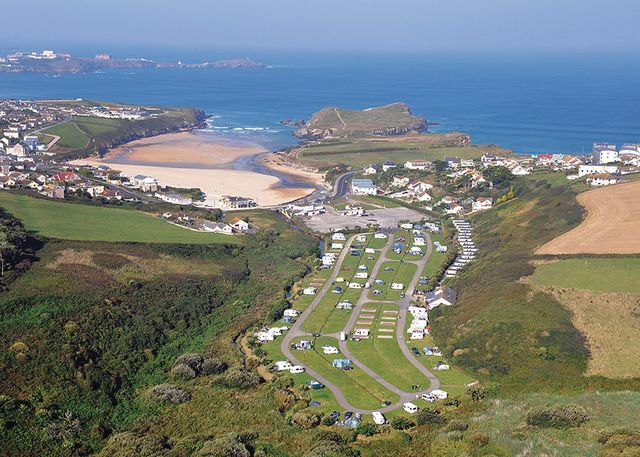 Porth Beach Holiday Park in Cornwall    Situated just 100m from the golden sands of Porth Beach - one of Cornwall's safest swimming beaches - this relaxing park sits just 2 miles from popular Newquay. A perfect Cornish holiday base for couples and families alike.      Call 0844 847 1352 to book. Prices from £289 per week.