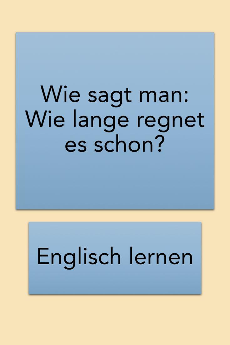 Verwendung Englisch