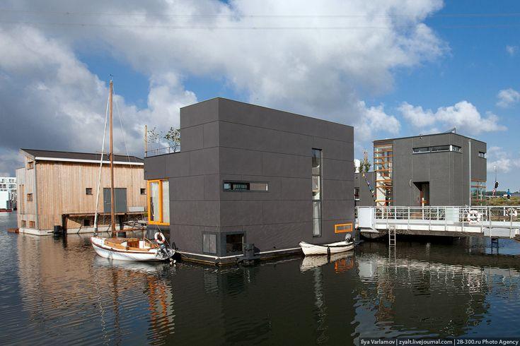 Плавучие дома в Амстердаме – Только крокодилы спасут эту страну от мудаков!