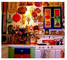 Bohemian Home Decor On Bohemian Kitchen Interiors Home And Decor