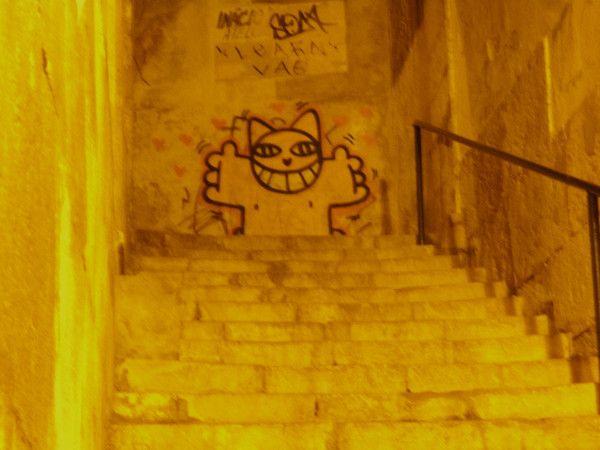 Lisbonne street art: Mr Chat - Bratislava , au milieu de l'Europe Le blog de gluc