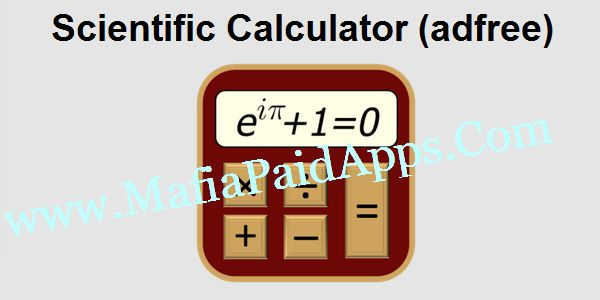 Scientific Calculator (adfree) v3.9.8 Apk   TechCalc contains 12 computing modes in one application  a handy reference section.Modes included are:  Basic Mode  Scientific Mode  64-bit Programmer Mode (Hex Oct Bin and Dec)  Graphing (save copy of graph to sdcard)  Matrices  Complex Numbers (cartesian polar using Euler's identity)  Quick Formulas  Quick Converter  Time Calculator  Equation Solver  Calculus (Derivative Definite Integral Taylor Series & Indefinite Integral) - requires Android…