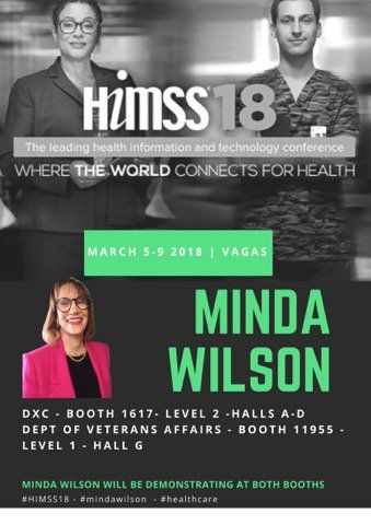 4 Days in and we are still going strong... If you are at @HIMSS stop by our booths and see us. #FluidityHealth #OurCareHub #MindaWilson #HIMSS18