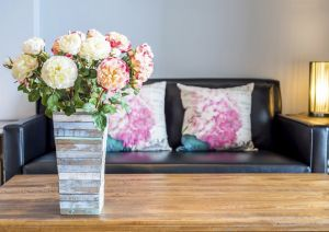 Flower arrangements for a new home