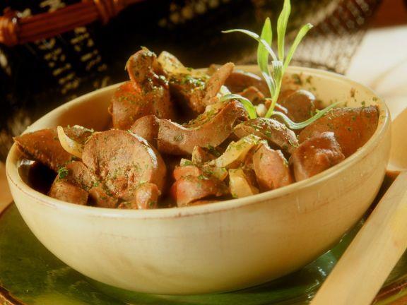 Kalbsnieren ist ein Rezept mit frischen Zutaten aus der Kategorie Fleisch. Probieren Sie dieses und weitere Rezepte von EAT SMARTER!