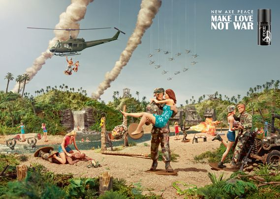 Creative Review - Ad of the Week: Axe Peace, Call To Arms