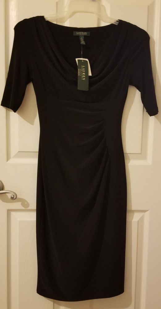 dbbea264 NWT Ralph Lauren Black Dress Size 2 #fashion #clothing #shoes #accessories # womensclothing #dresses (ebay link)