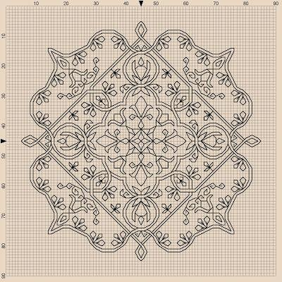 Beautiful, free cross stitch pattern
