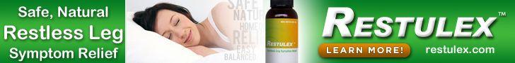 Restulex - homeopathic remedy for restless leg syndrome (RLS)